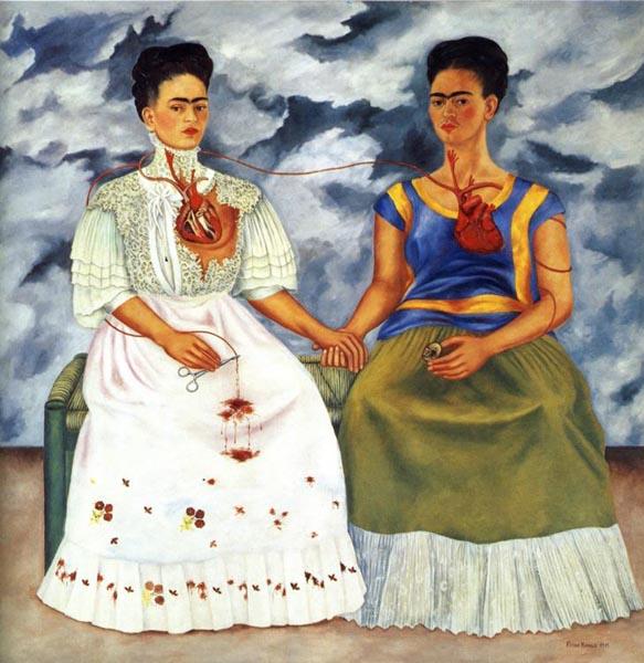 Las Dos Fridas margolana aztergai