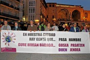 Músicos sin fronteras y Bultzain ponen en marcha un nuevo comedor social en Gasteiz