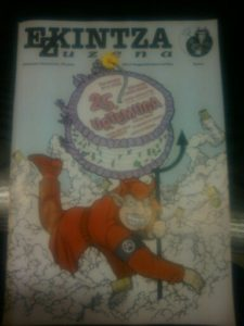 La revista Ekintza Zuzena cumple 25 años