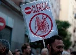 Manifestación atea en las calles de Madrid