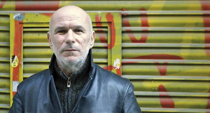(La Pila) Jann Marc  Rouillan preso ohia Euskal Herrian