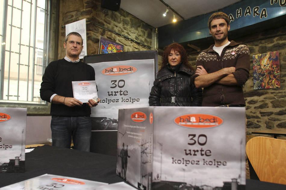 Oscar Bañuelos el director del documental 30 urte de Hala Bedi