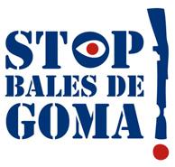 Stop bales de goma