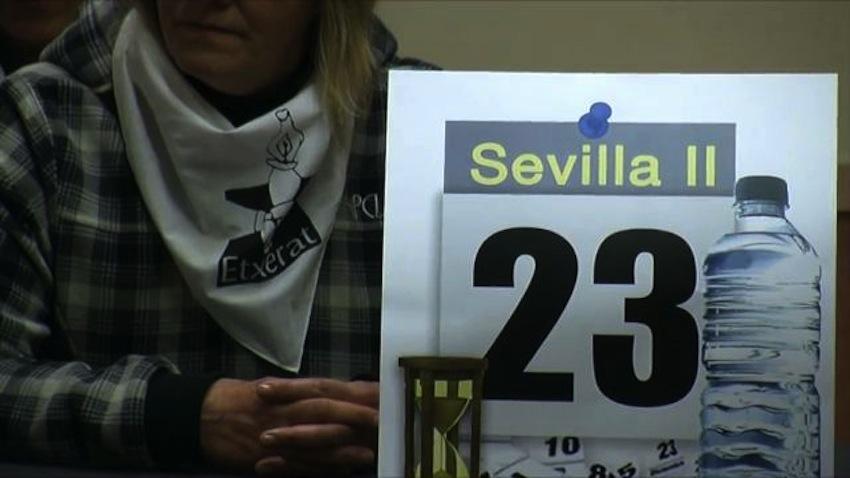Hablamos con Etxerat sobre la situación de los presos vascos en la cárcel de Sevilla II