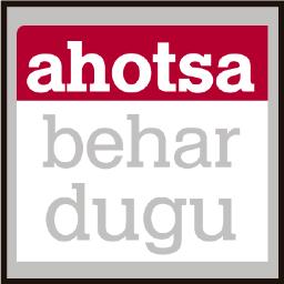 Ahotsa Behar Dugu