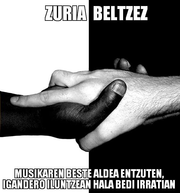 190.- Zuria Beltzez 14-02-09 (gora zarata fina!)