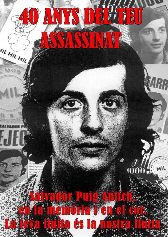 40 años desde el asesinato de Puig Antich