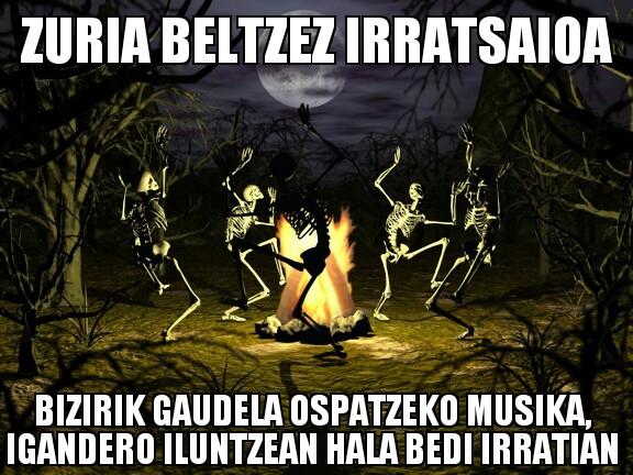 196.- Zuria Beltzez 14-03-30 (ilunak jotzen)