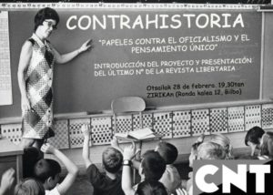 Nuevo número de la revista CONTRAHISTORIA