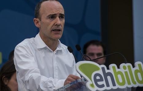 Hablamos con Josu Juaristi, candidato de EH Bildu a las elecciones europeas