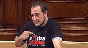 David Fernández, de las CUP en Suelta la Olla