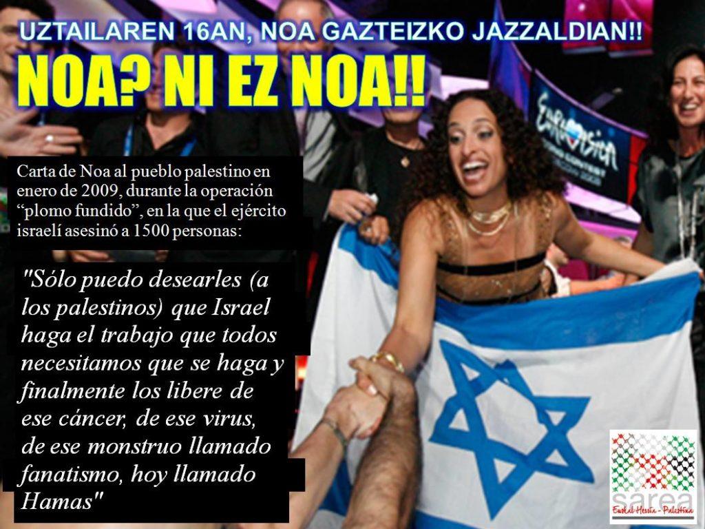 Uhintifada 189: Noa, la cara amable del apartheid israelí