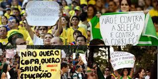 Brasil 2014: cólera en tiempo de fútbol