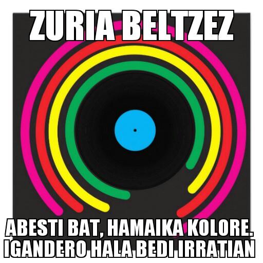 209.- Zuria Beltzez 14-07-20 (oporraldia!)