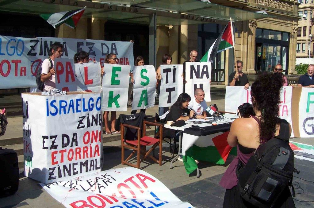 Uhintifada 192: Zinemaldia o el cine como herramienta de legitimación de Israel