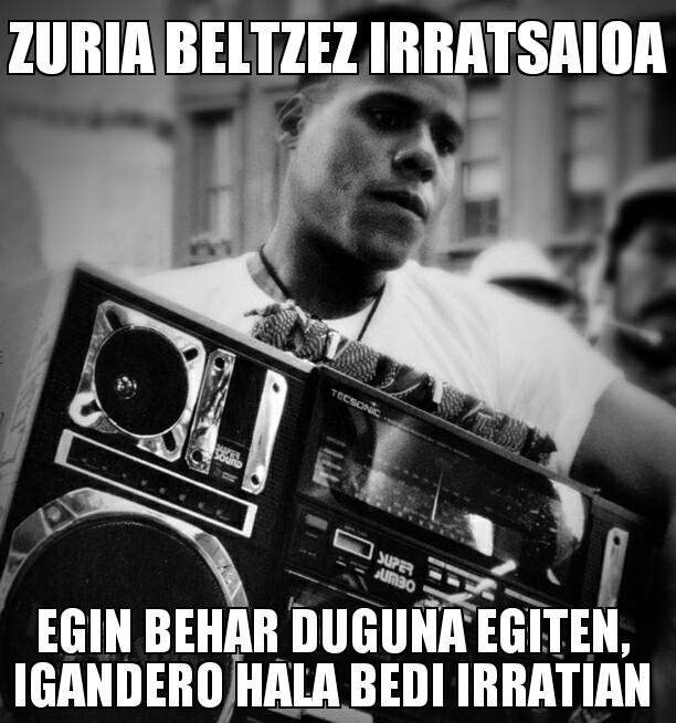 210.- Zuria Beltzez 14-09-14 (itzalera itzulera)