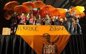 Jone  Amezaga  es  detenida