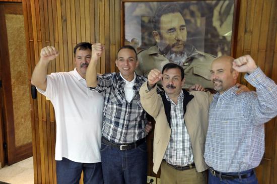 Los  Cinco  en  la  Patria:  una  victoria  de  Cuba  y  todo  el  Movimiento  Internacional  de  Solidaridad
