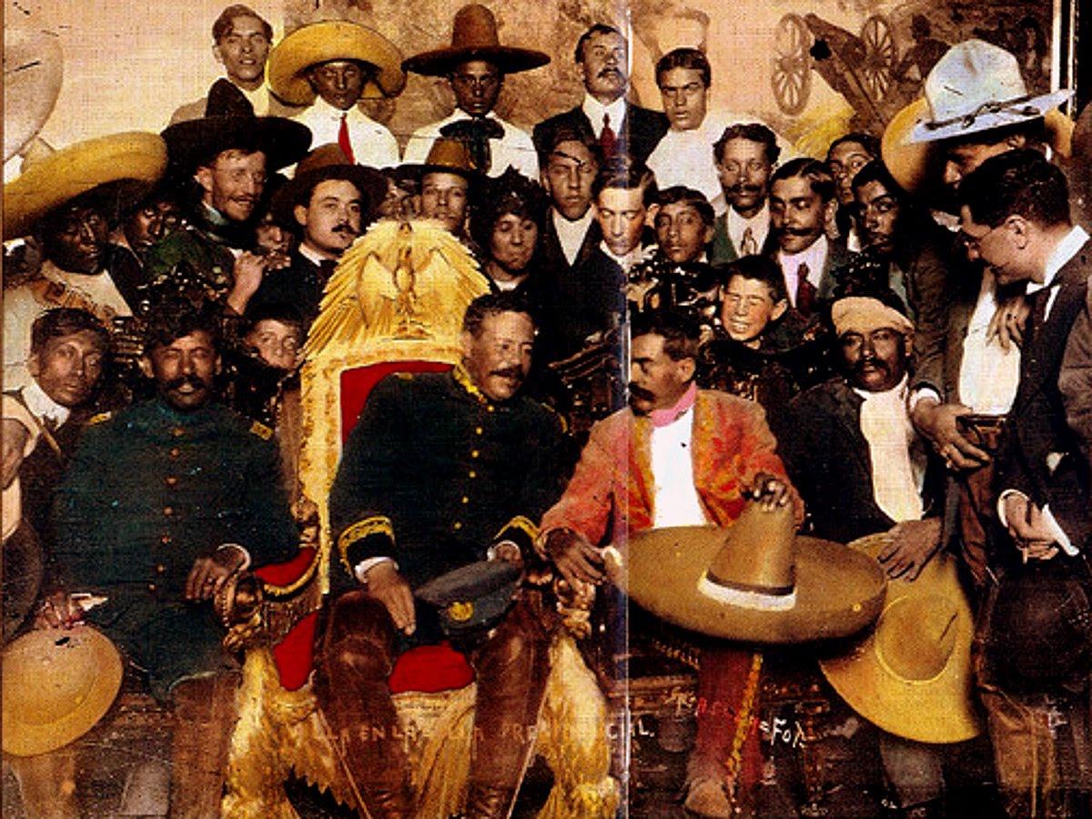 No  Fiutxur!  –  Mexikoko  Iraultza  eta  Konbentzio  gerra