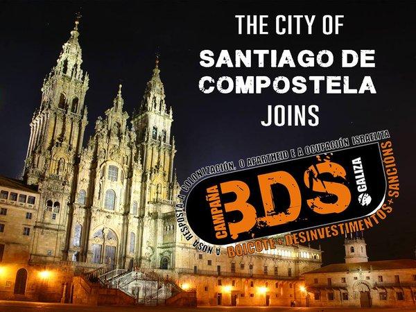 Uhintifada 237: Compostela se suma al BDS, victoria del movimiento de boicot en Galiza.