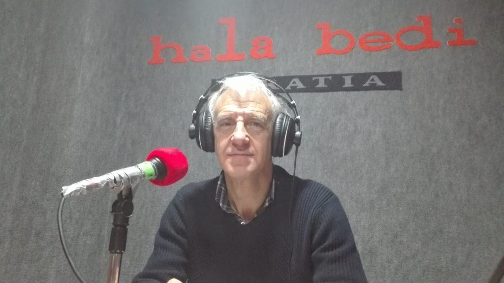 """Txema Ramirez de la Piscina: """"Kataluniarren jokabidea dagoeneko Zientzia Politikoetako fakultateetan aztertzen ari den mugimendu berritzailea da"""""""