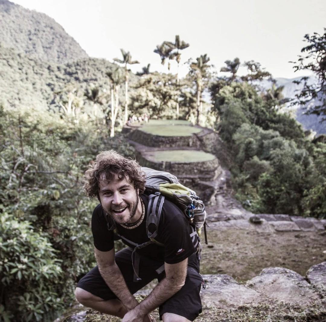 Borja Lazaro gasteiztarrak desagertu aurretik egindako azken argazkiak ikusgai Montehermoson