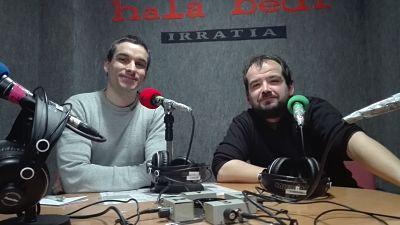 TERTULIA: Rikardo Otxoa eta David Mangana