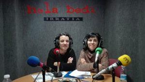 Maite Huarte eta Maider Ruiz de Egino