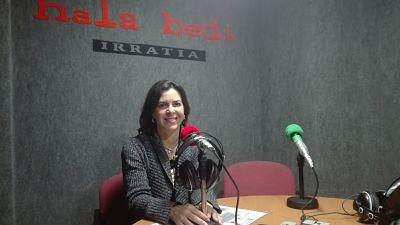 """Iratxe Lopez de Aberasturi (Udalbiltza): """"Ateak zabalik dauzkagu Euskal Herriko hautetsi guztientzat"""""""