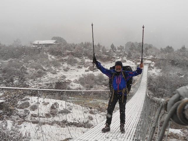 """Javier Campos: """"Viajar a Nepal es una forma de ayudar a la gente de allí."""""""