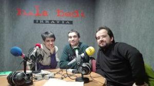 Zurine Rodriguez, Rikardo Otxoa eta David Mangana