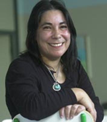 Nekane Jurado, economista que está participando en Eibar en las segundas Jornadas feministas de Mujeres Abertzales (Emakume Abertzaleon II. Topaketa Feministak), organizadas por Bilgune Feminista.