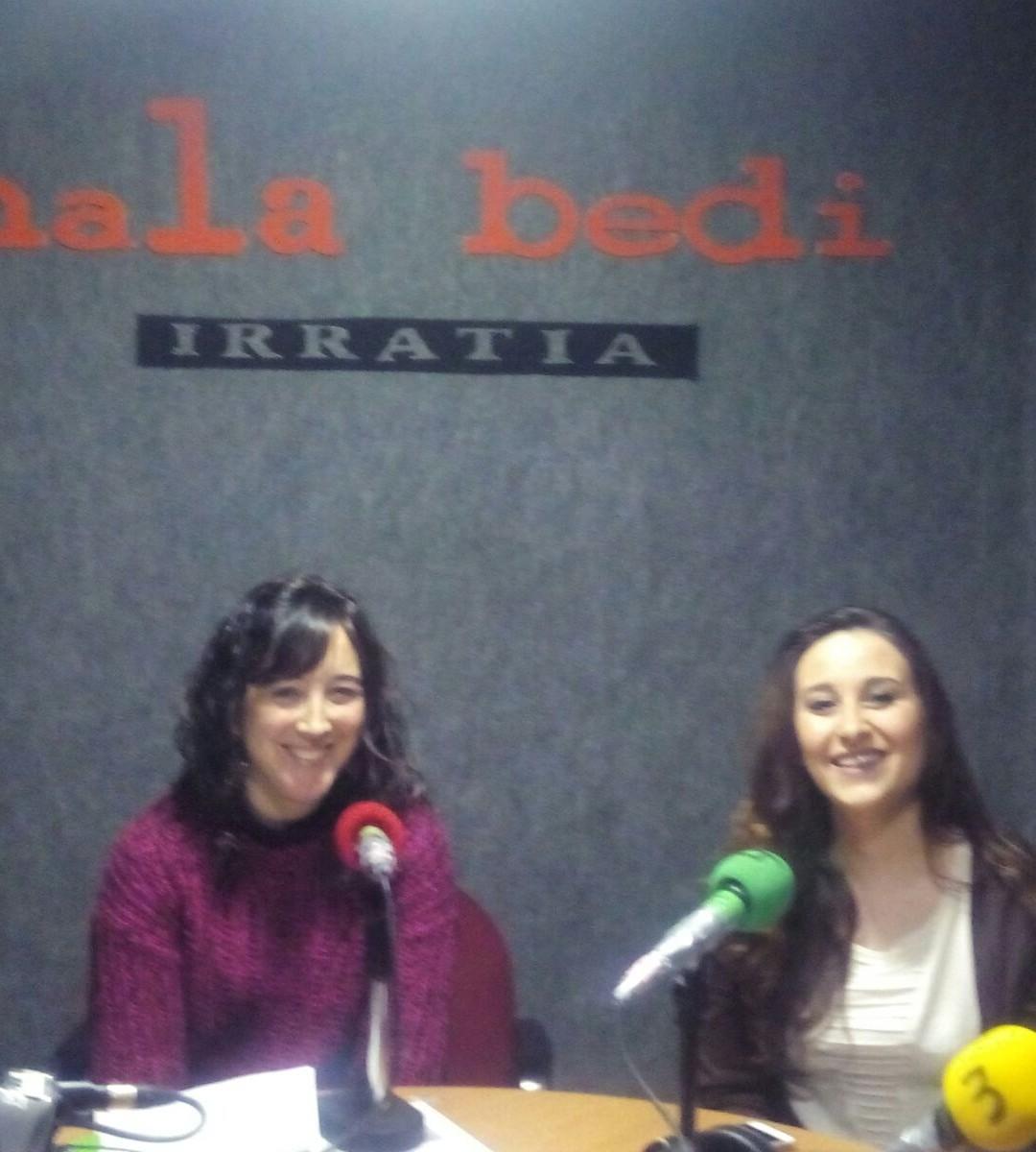 TERTULIA – Batzar Nagusietako ordezkariak: Saioa Beistegi (PSE-EE) eta Haizea Marijuan (EH Bildu)