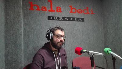 """Iban Santamaria: """"Kontzertua eta kupoa okupazio militarraren ondorioa dira"""""""