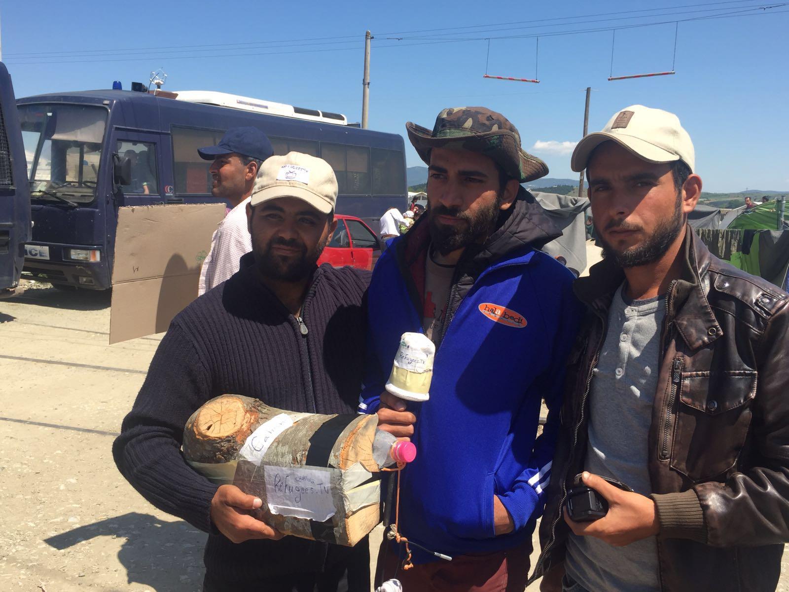 Refugees.tv: Idomeniko errefuxiatuen kanpalekuko egoera umorez salatzeko tresna