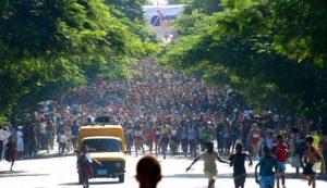 Marabana, 10 de octubre.Foto: Franklin Reyes/JRebelde, Cuba.