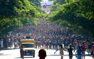 Kasakatxan  16/04/25.    Corriendo  en  el  Marabana,  el  maratón  de  La  Habana  y  en  bicicleta  hacia  Asia