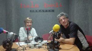 Blanca Martinez de San Vicente eta Zigor Oleaga