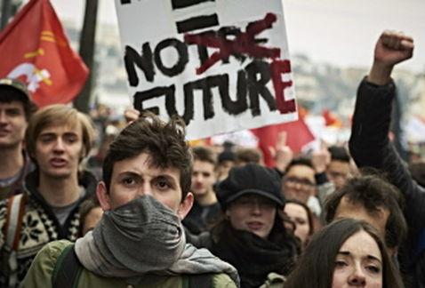 Múltiples protestas en Francia por la Reforma Laboral