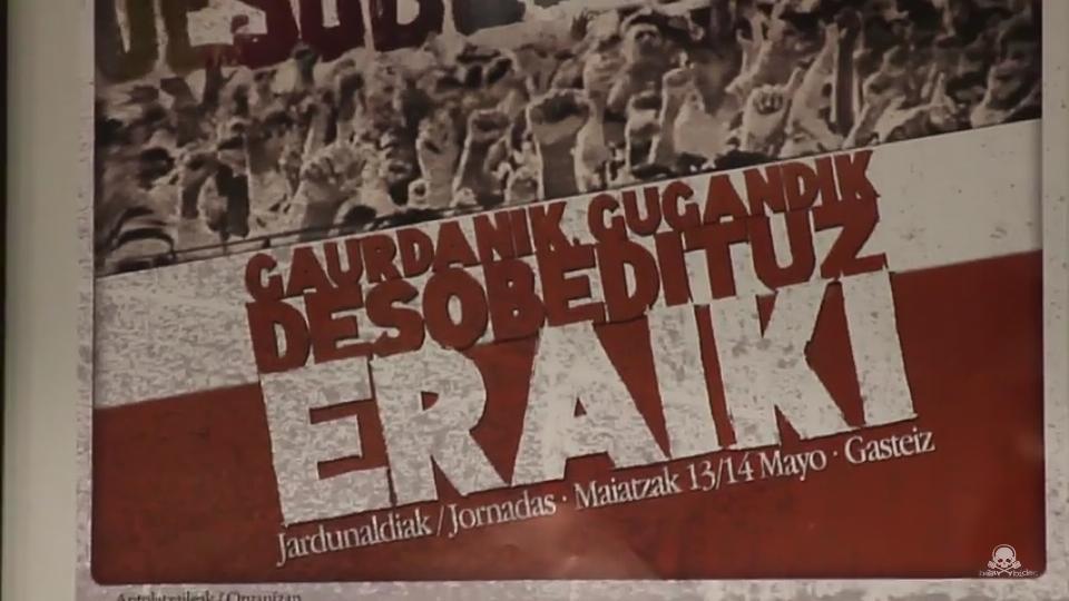 """[HalaBideo]  """"Gaurdanik,  gugandik,  desobedituz  eraiki!""""  jardunaldiak"""