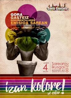 """Gora  Gasteiz  –  Izan  kolore,  sé  color""  el  documental"