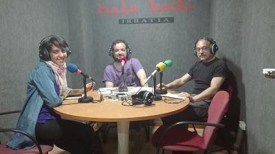 TERTULIA: Xabier Izaga, David Mangana eta Zuriñe Rodriguez