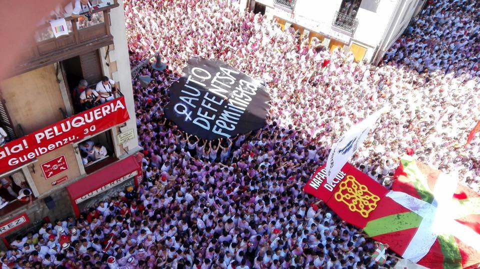Desde el txupinazo de San Fermín…