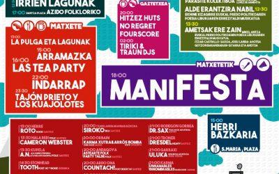 [Albistea] UdazkenFest-ek herri mugimenduko eragileen babesa jaso du