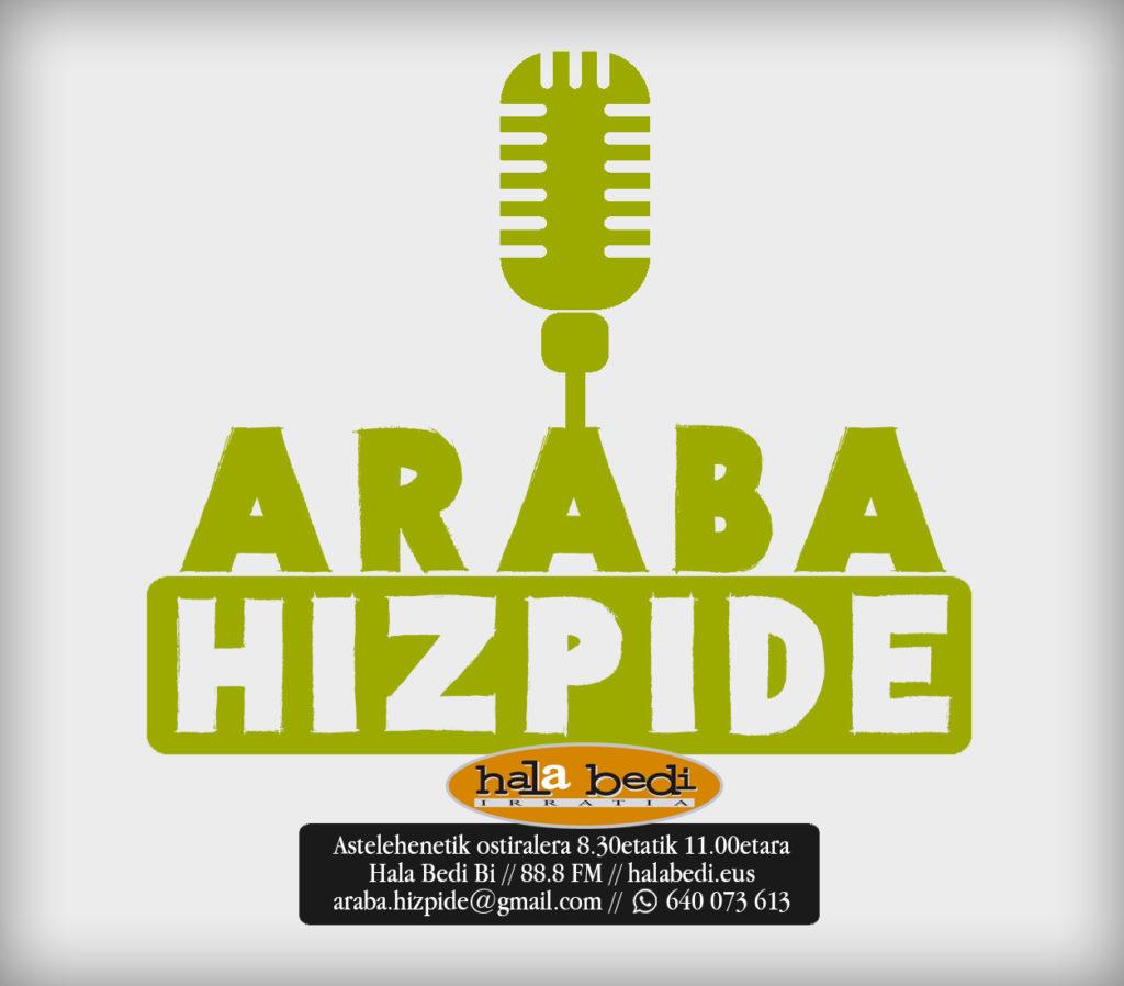 Irailaren 19an hasiko dira Hizpidea eta Araba Hizpide irratsaioak, Hala Bedi Bi-n