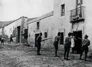 La  represión  fascista  tras  el  golpe  dejó  en  Errioxa  decenas  de  asesinados