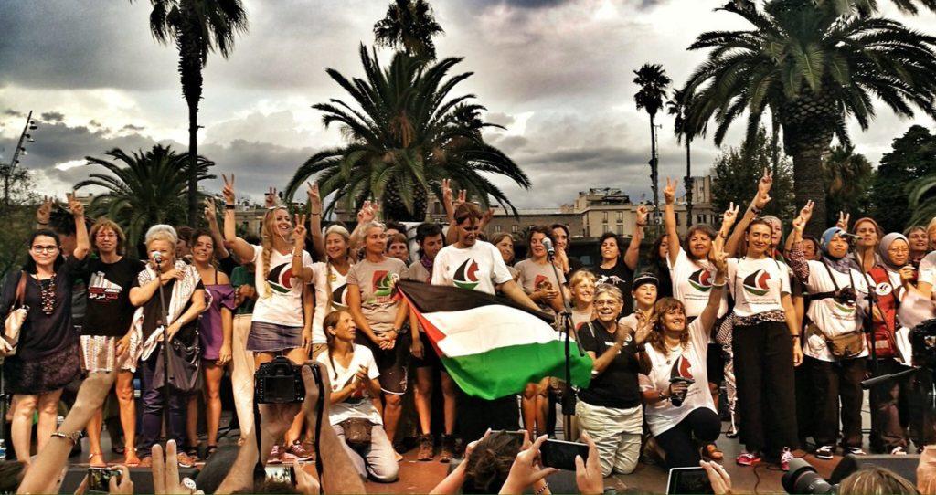 Uhintifada emisión especial: Las mujeres navegan ya rumbo a Gaza.
