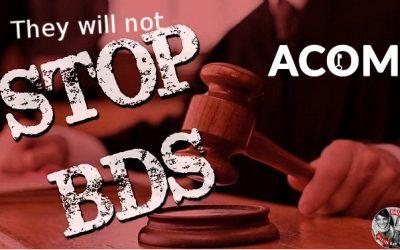 Uhintifada 266: Desentrañamos los entresijos de la organización ACOM, el lobby sionista en el estado español.