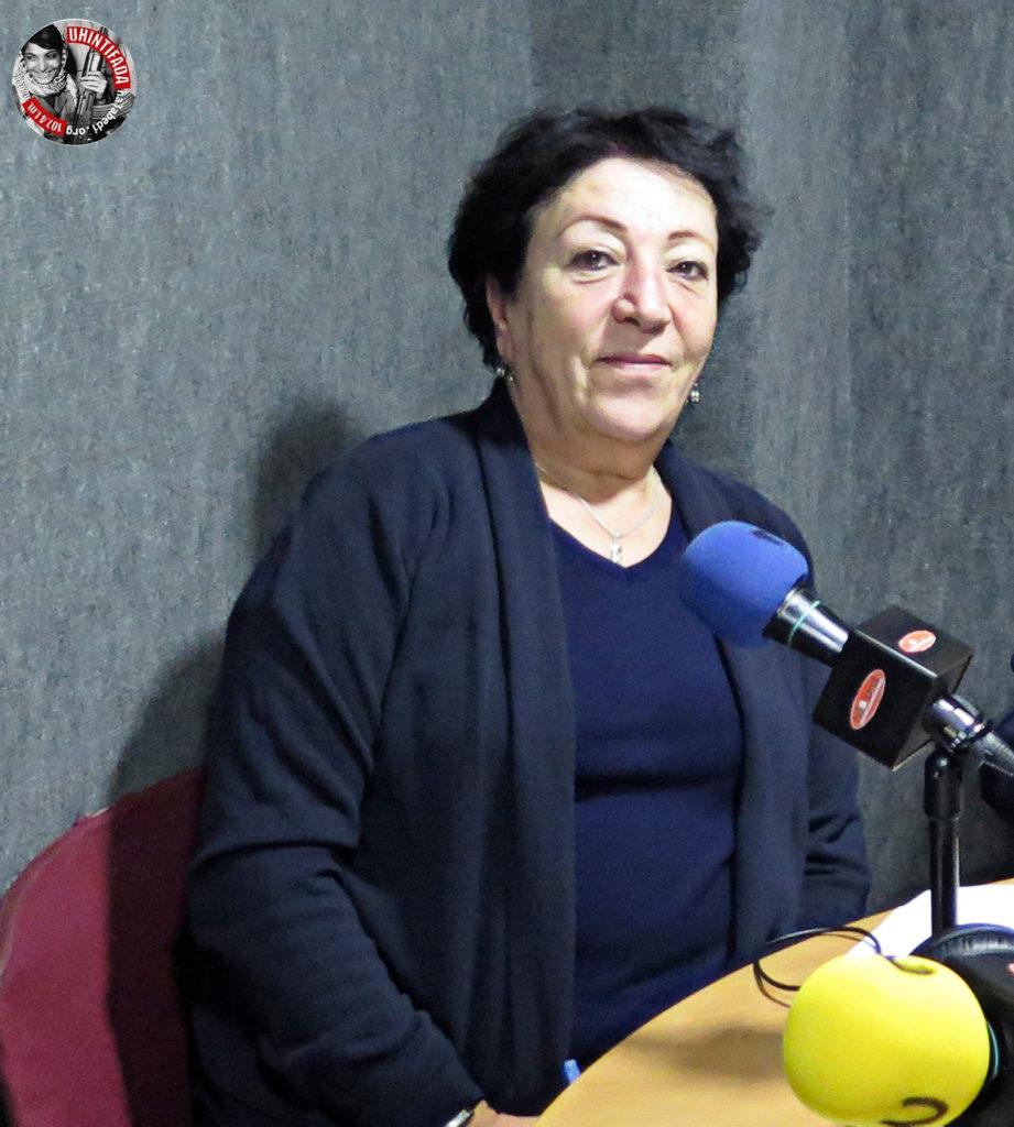 Samia Shannan: «La ocupación utiliza todos sus recursos militares para amedrentar a la gente, incluido en el ámbito educativo».