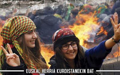 Abenduaren  17an,  manifestazio  nazionala  Bilbon:  'Faxismoaren  aurrean,  gora  Kurdistan!'